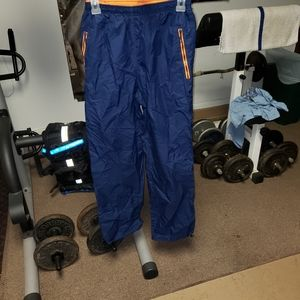 Mens small blue and orange Nike sweatpants